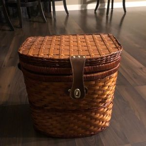 Handbags - Wicker Picnic basket for wine